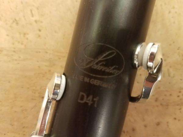 Schreiber D 41 - 22/6 deutsche Klarinette