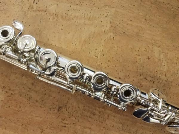 Azumi S3RE Silver Flute, Altus Head
