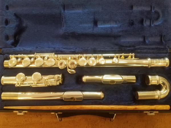 Trevor James 10x-3001CDE Flöte, leicht gebraucht