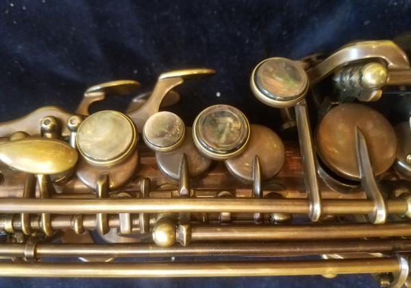 System 54 Soprano 1 Piece, Pure Brass
