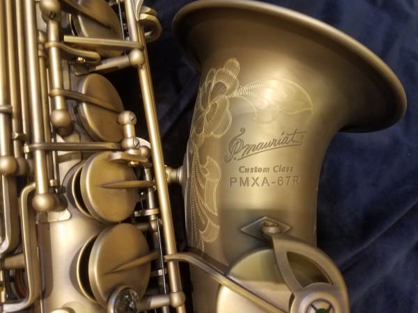 P. Mauriat PMXA-67R Vintage-Dark Alto Sax